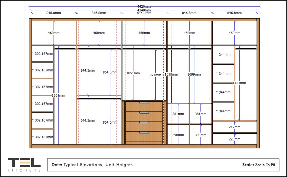 2D Wardrobe Planning