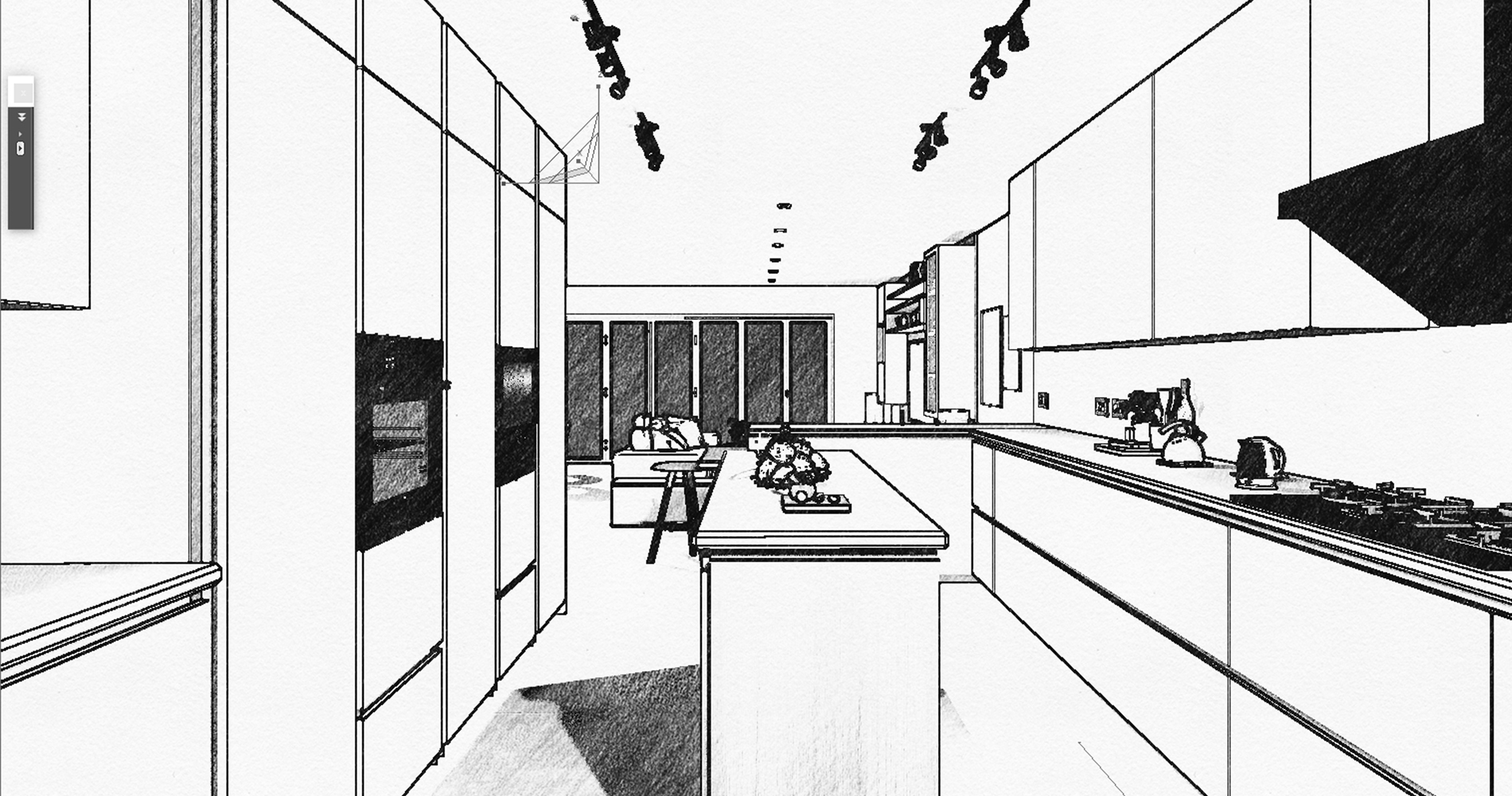 3D Kitchen Interior Design & Rendering Services