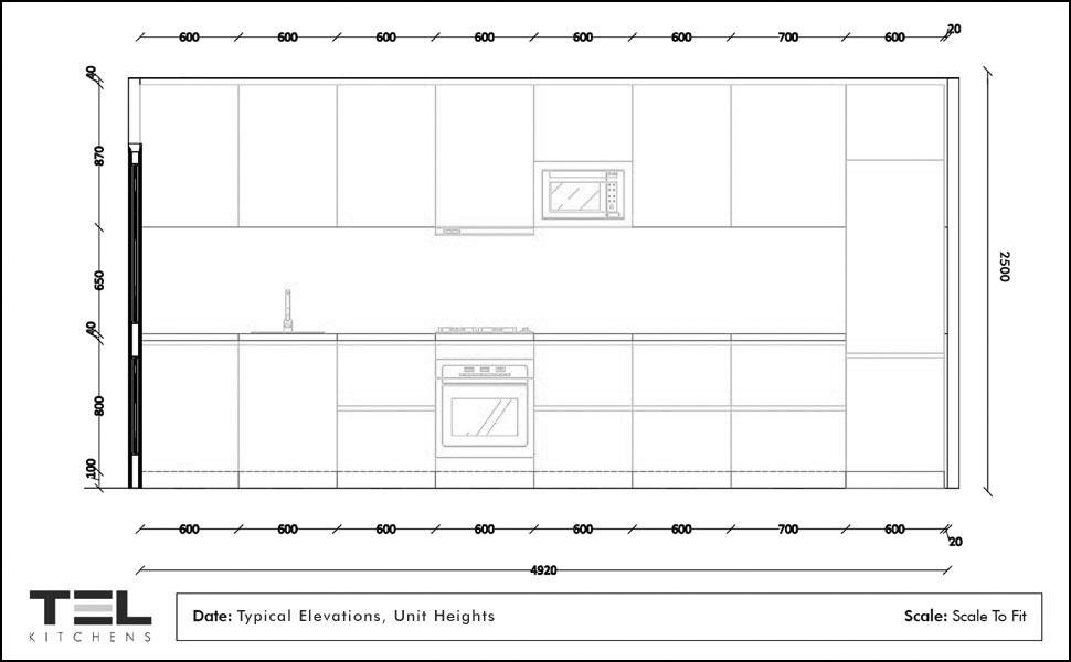 2D Elevation Plan