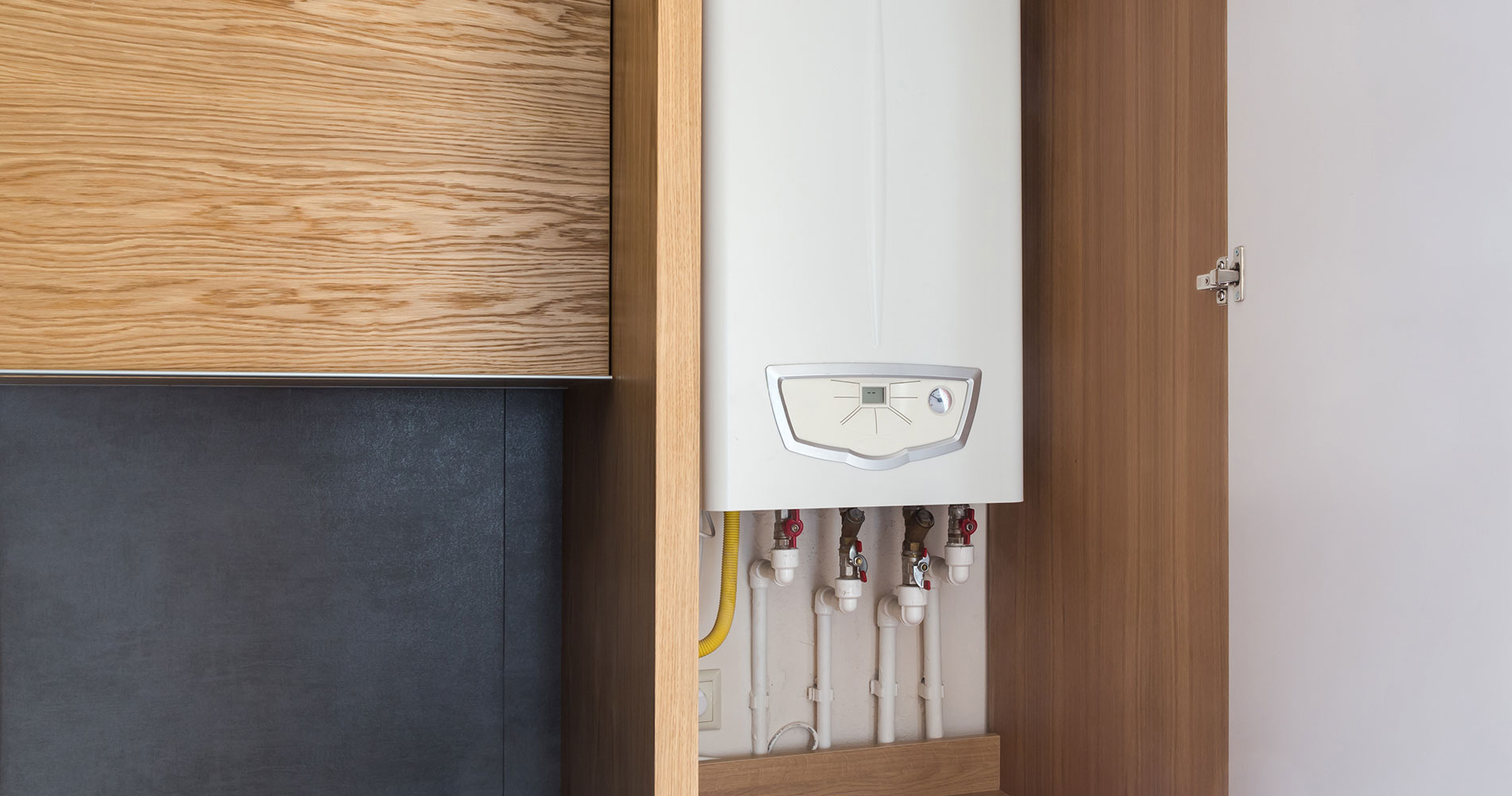 HOW TO HIDE A BOILER IN KITCHEN