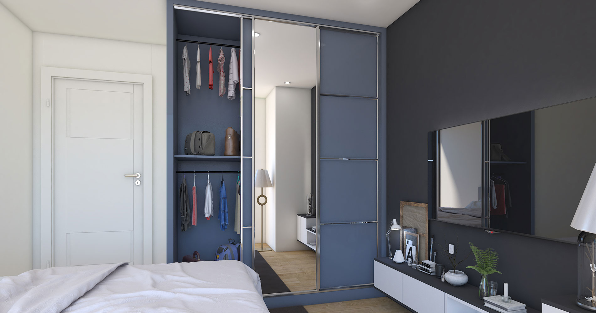 Top 15+ Sliding Door Wardrobe Designs Ideas