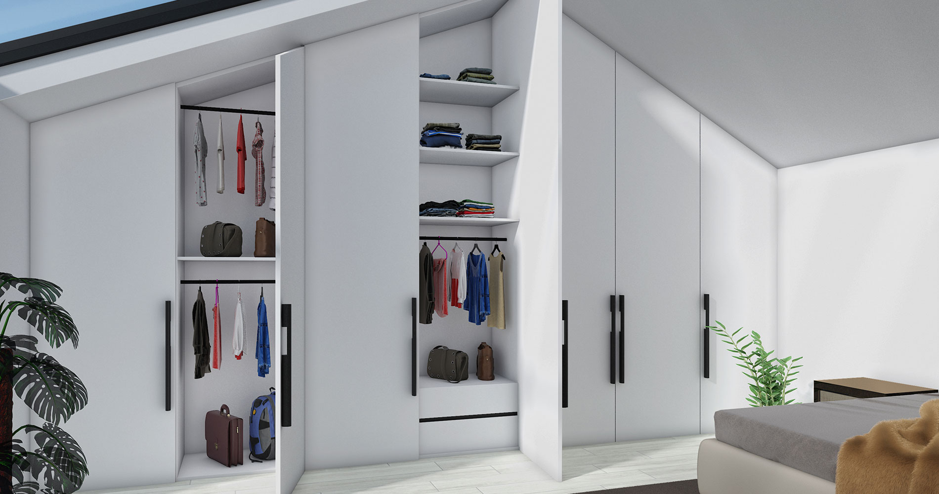 Top 7 Loft Wardrobes Designs