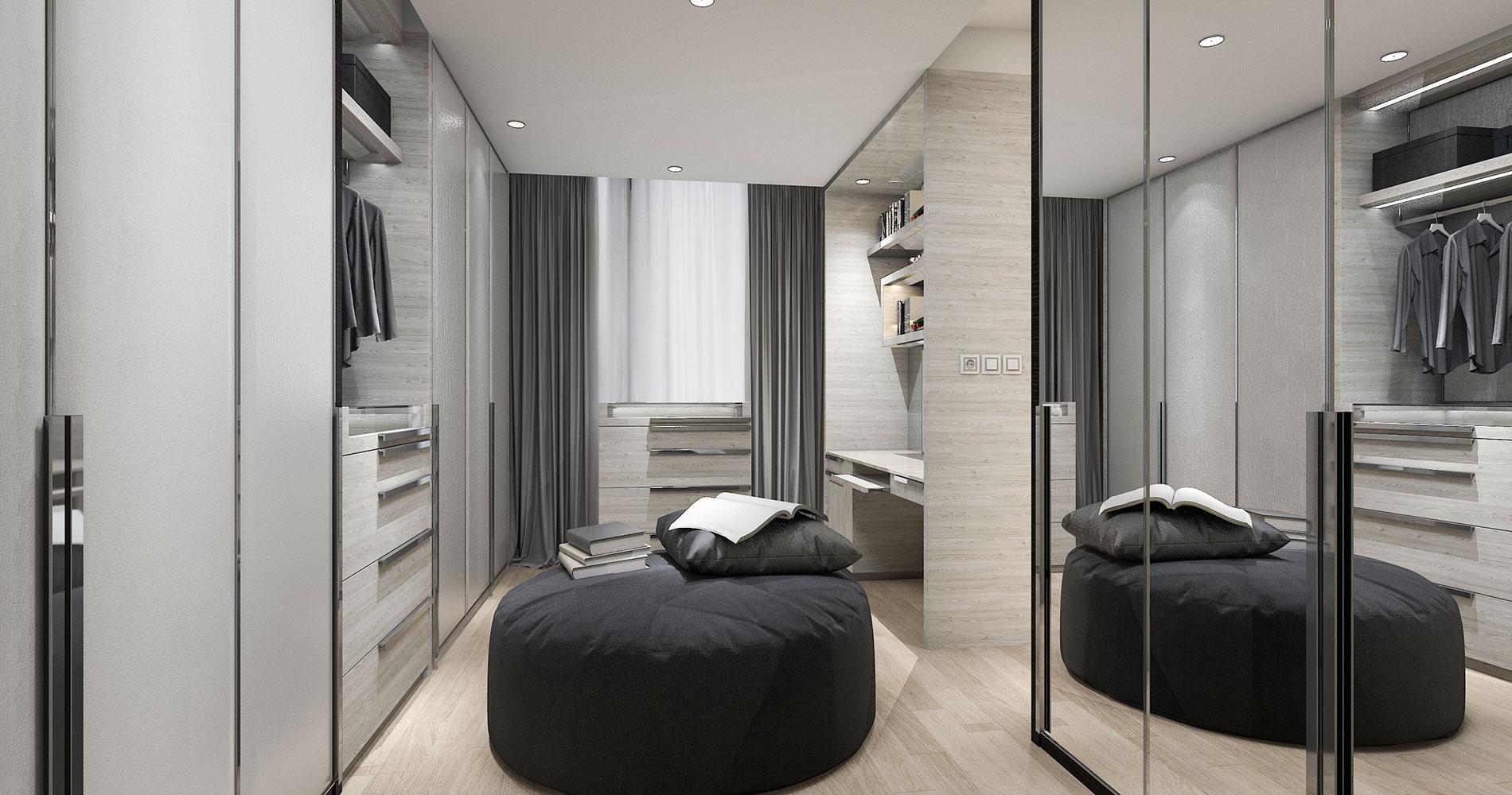 Grey Wardrobe Designs