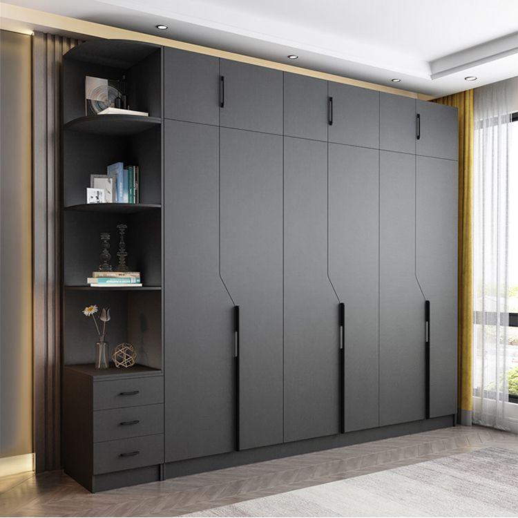 gray wardrobe design(1)