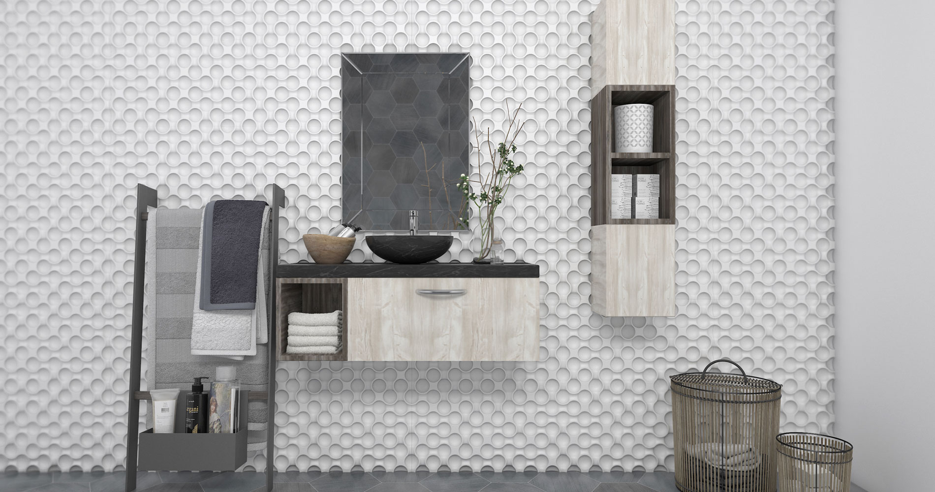 Rugged wall cladding adding new dimensions to the home interiors