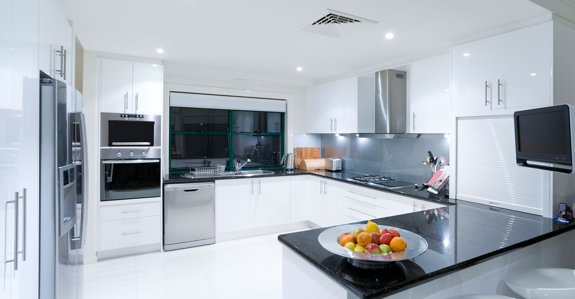 How do modern kitchen appliances make cooking easier and ease manual work?