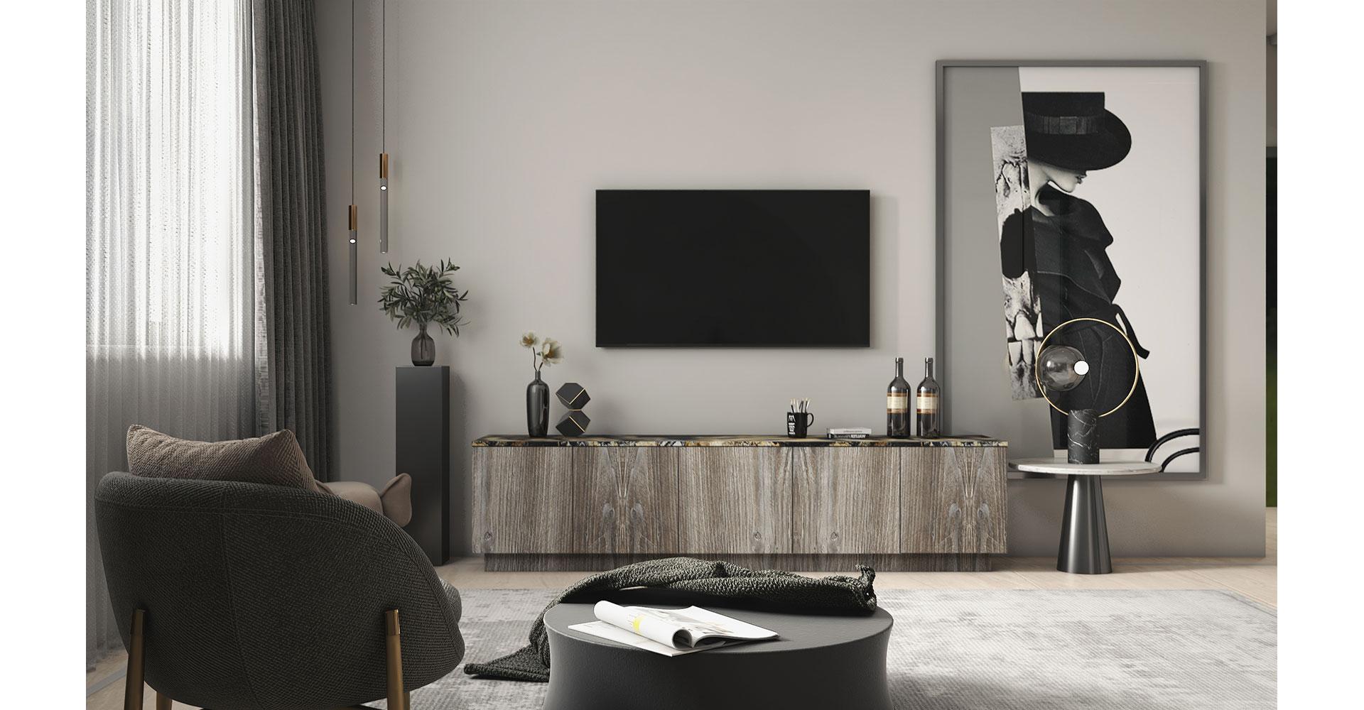 Pretty and minimal media unit design