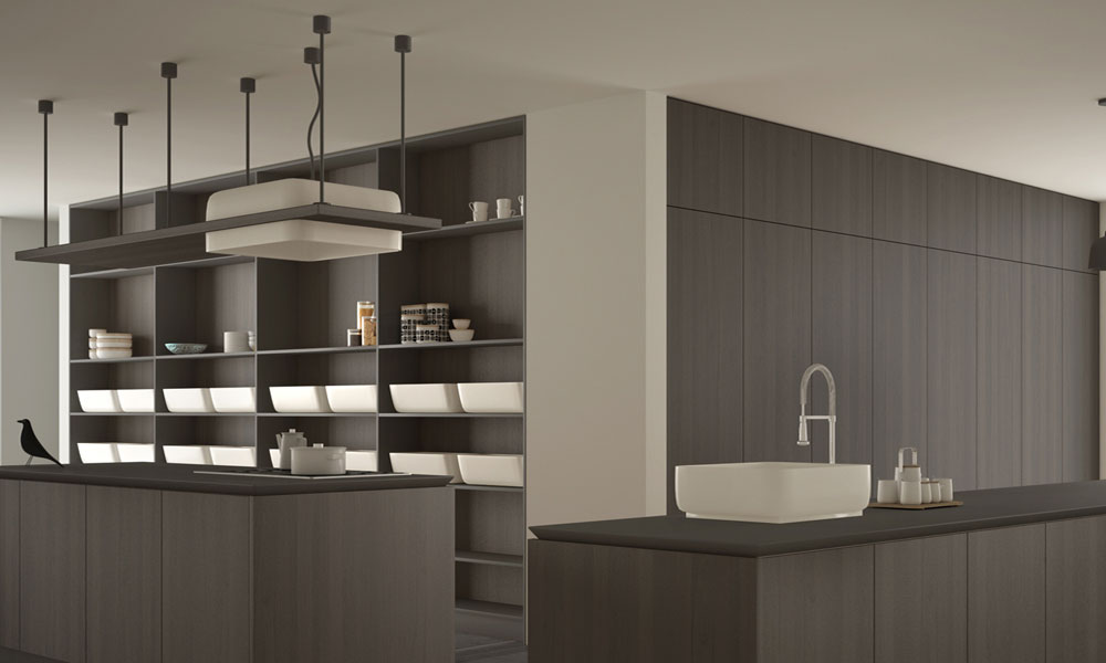 A beautiful and classy Italian kitchen design
