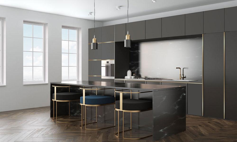 Pure and Serene Luxurious kitchen design